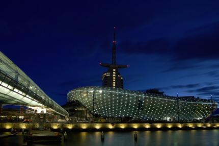 Gebäude-Design von LED-Landschaft Beleuchtung | Eneltec Group